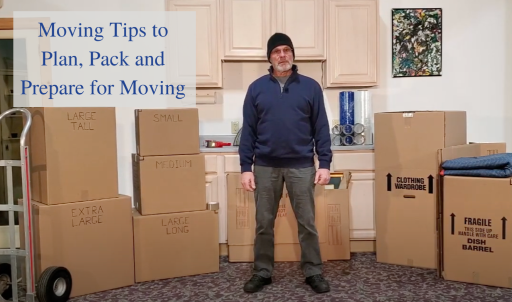 moving tips for planning packing and preparing to move